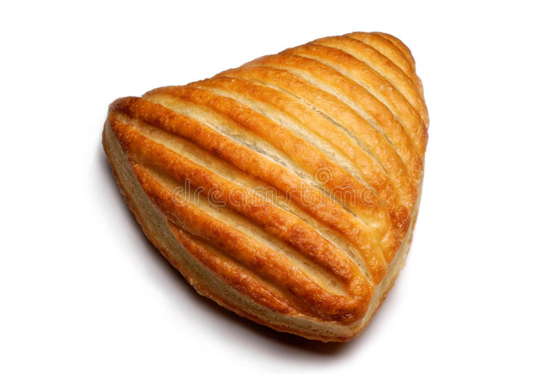 Het broodje van de croissant royalty-vrije stock afbeeldingen