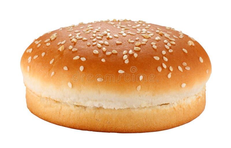 Het broodje van de hamburger stock fotografie