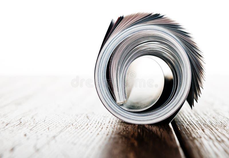 Het Broodje van het tijdschrift stock afbeelding