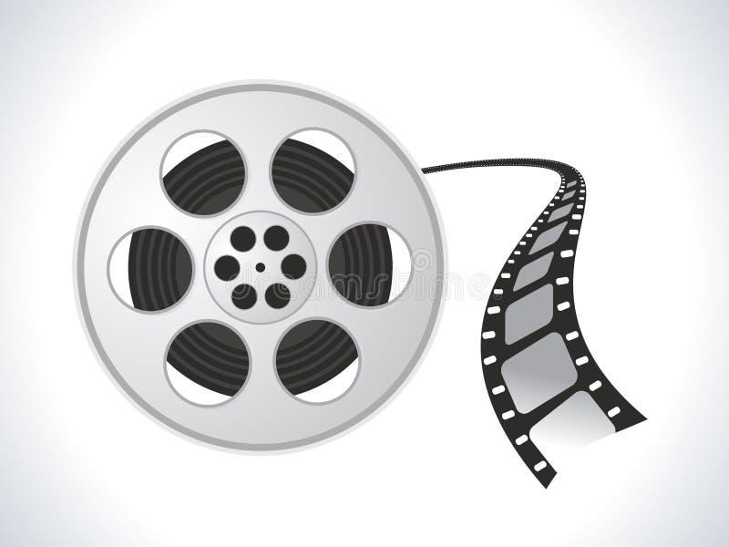 Het broodjespictogram van de film vector illustratie