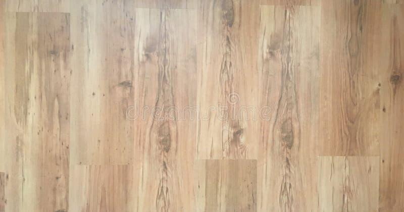 Het bruine houten gelamineerde binnenland van de vloervernis in modern huisontwerp Houten parketachtergrond, Houten textuur voor  royalty-vrije stock foto