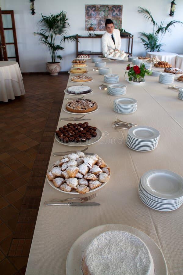 Het buffet van het dessert royalty-vrije stock foto's