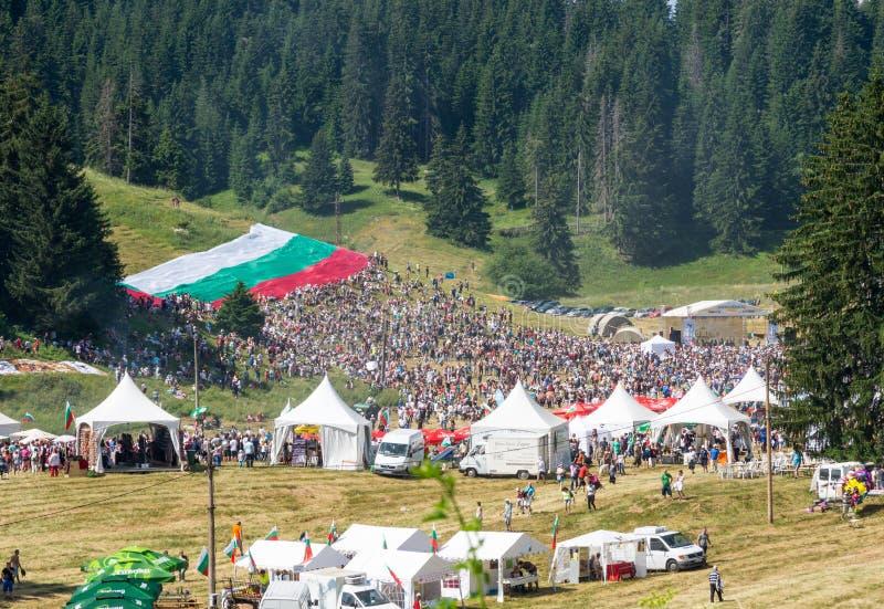 Het Bulgaarse Nationale Volksfestival royalty-vrije stock fotografie