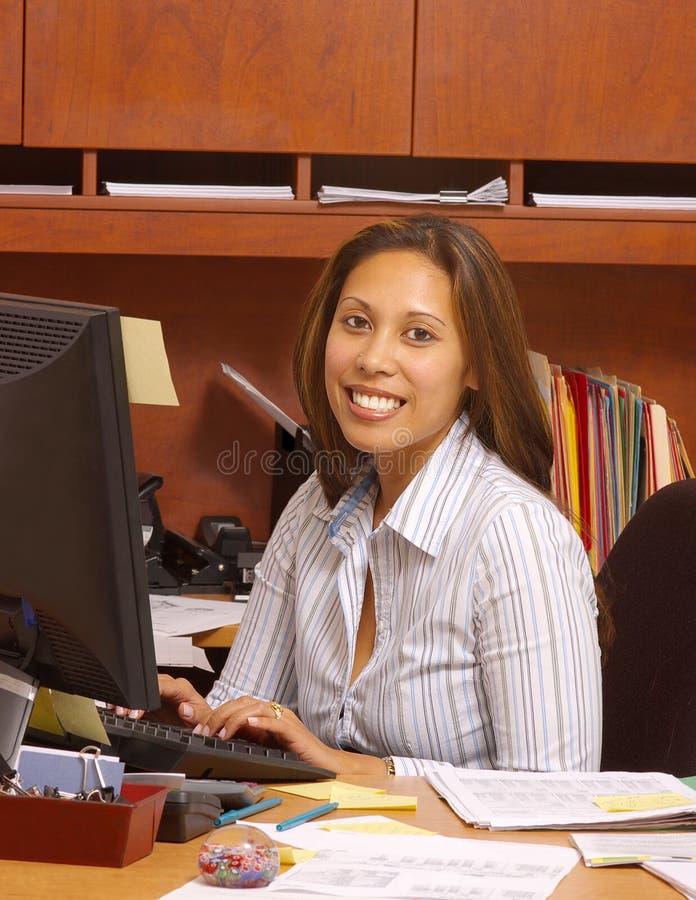 In het bureau stock fotografie
