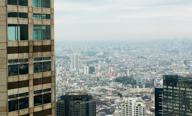 Het bureau bouwt, Wolkenkrabber, Grote Stad royalty-vrije stock foto