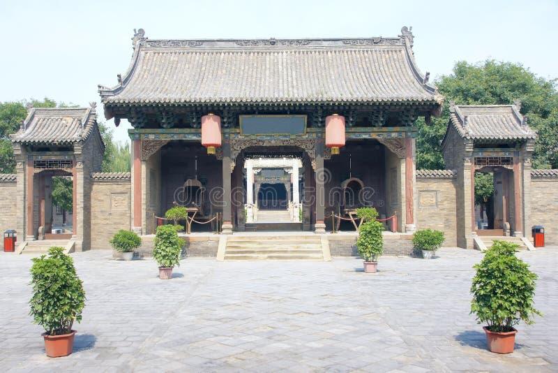 Het bureau van de overheid van feodaal China stock afbeelding
