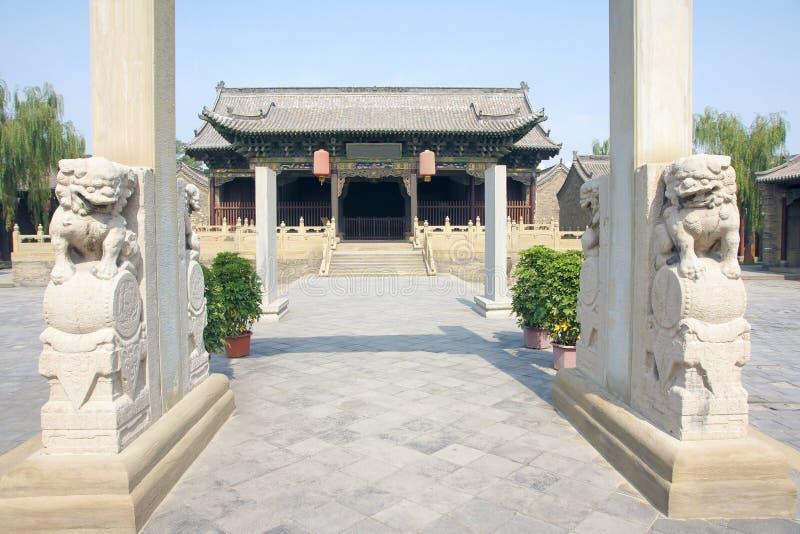 Het bureau van de overheid van feodaal China stock foto's