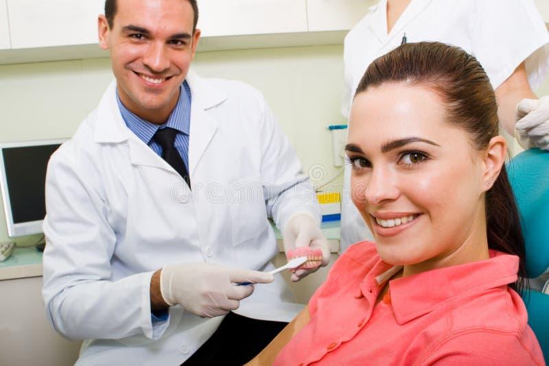 Het bureau van de tandarts stock fotografie