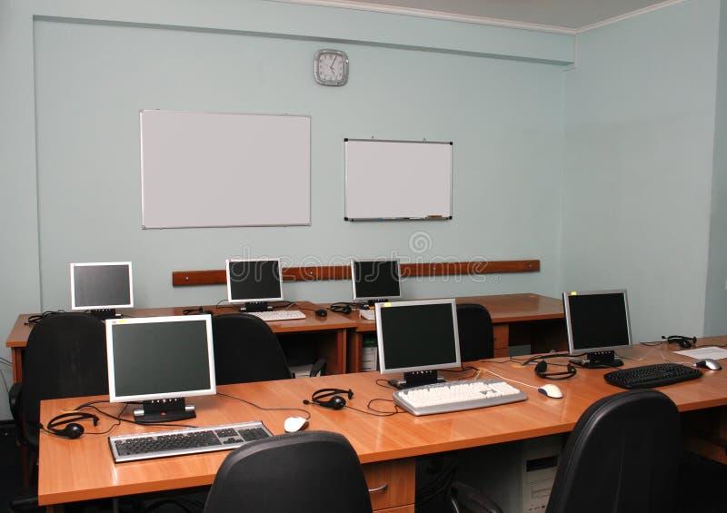 Het bureaubinnenland van IT royalty-vrije stock foto