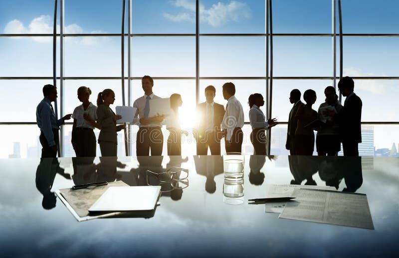 Het Bureauconcept van de bedrijfsmensen Collectief Administratief Arbeider royalty-vrije stock afbeeldingen