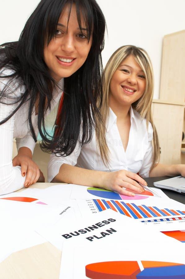 Het businessplan van  stock foto's