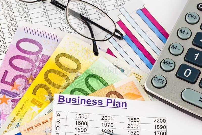 Het Businessplan van royalty-vrije stock foto