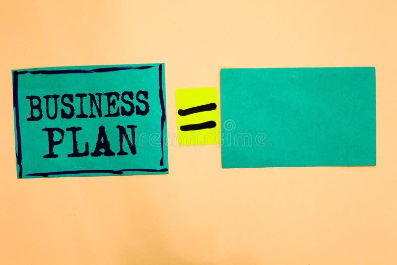 Het Businessplan van de handschrifttekst Concept die Structureel van Strategiedoelstellingen en Doelstellingen Financieel Project royalty-vrije stock afbeeldingen