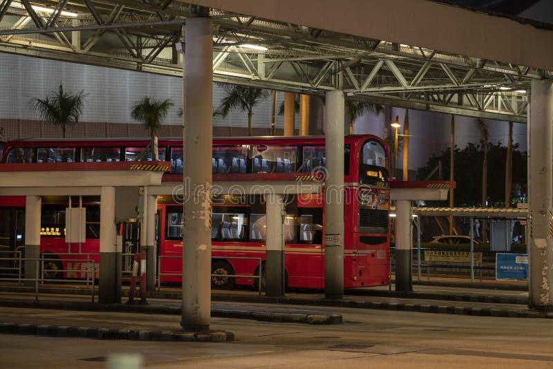 Het busstation royalty-vrije stock foto