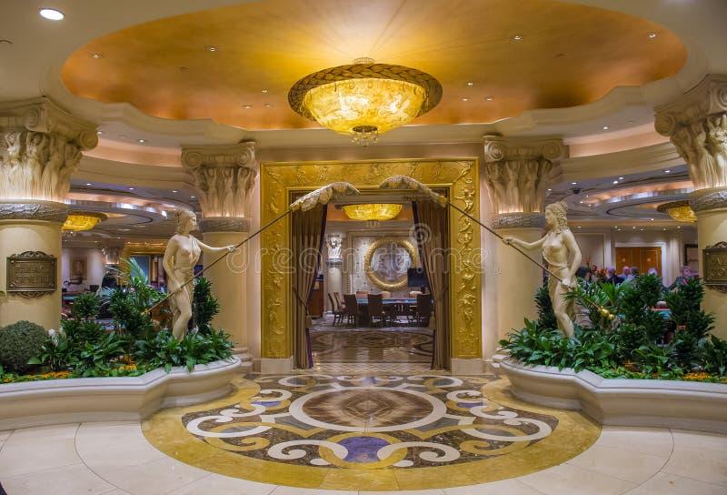 Het Caesars Palace van Vegas van Las stock foto's
