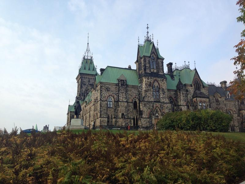 Het Canadese Parlement royalty-vrije stock foto