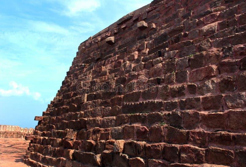 Het canonstadium van fort stock fotografie