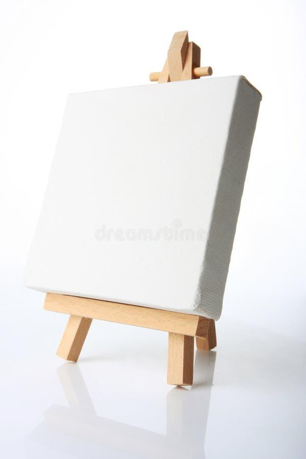 Het canvas van de olie stock foto
