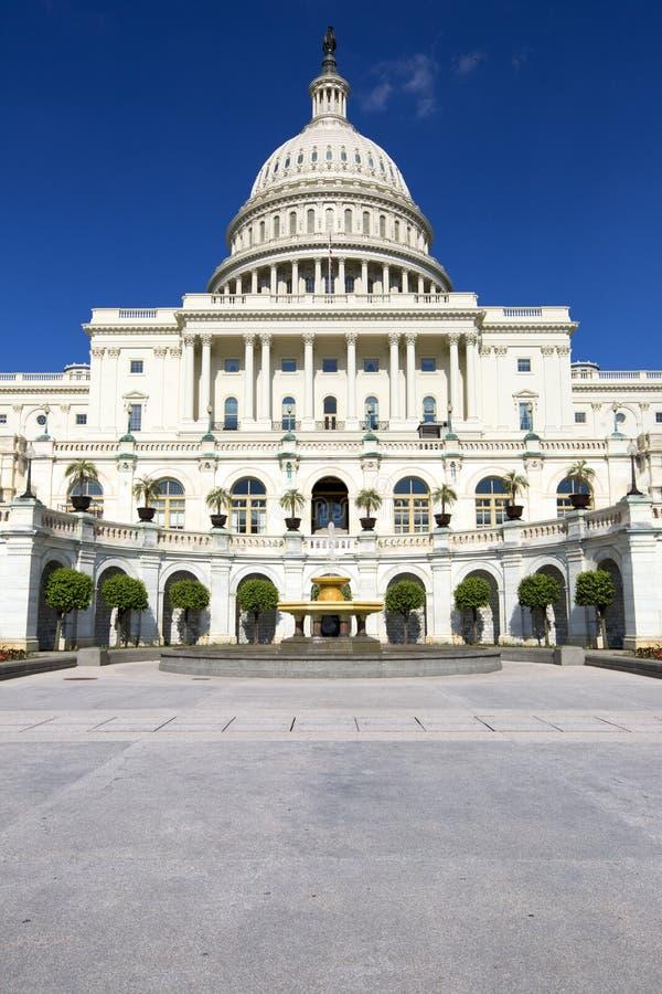 Het capitolgebouw in Washington stock afbeelding