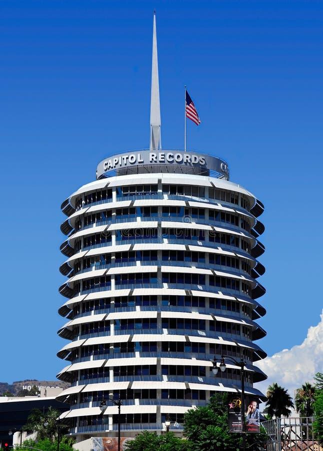 Het Capitool registreert Toren royalty-vrije stock fotografie