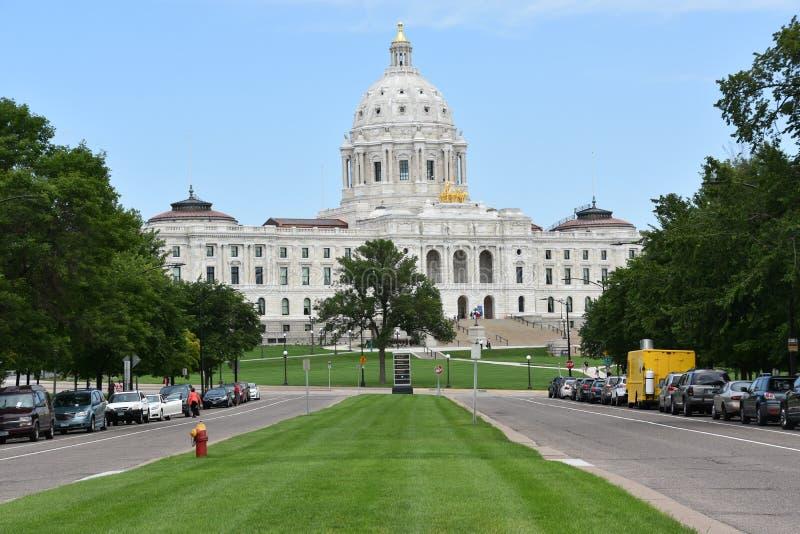 Het Capitool van de Staat van Minnesota in St Paul royalty-vrije stock fotografie