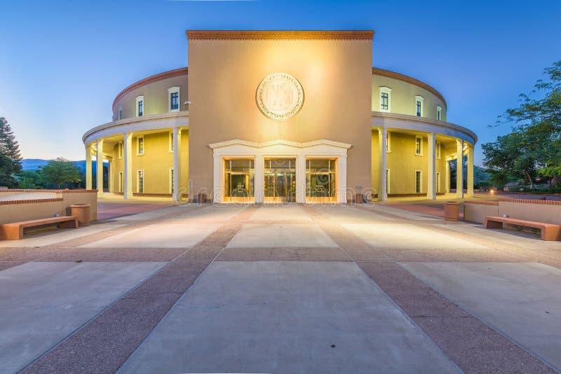 Het Capitool van de Staat van New Mexico royalty-vrije stock foto's
