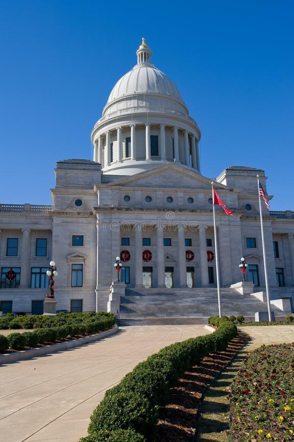 Het Capitool van de Staat van Arkansas royalty-vrije stock afbeeldingen