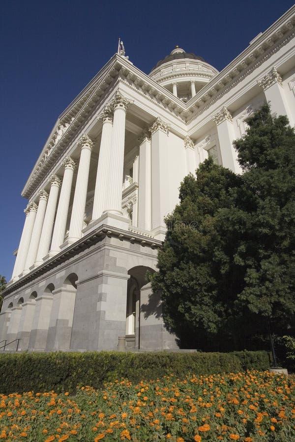 Het Capitool van de Staat van Californië stock afbeeldingen