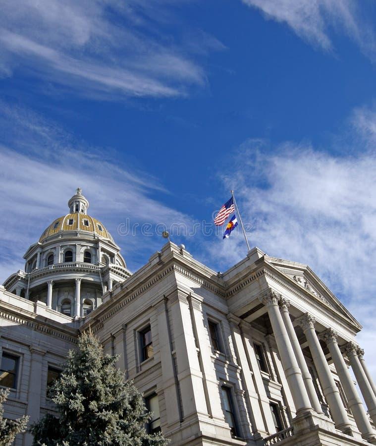 Het Capitool van de Staat van Colorado stock foto