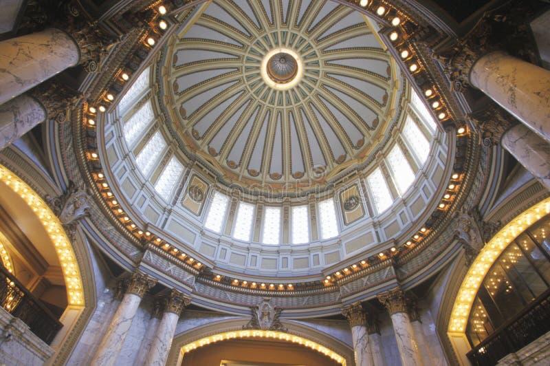 Het Capitool van de staat van de Mississippi stock afbeeldingen