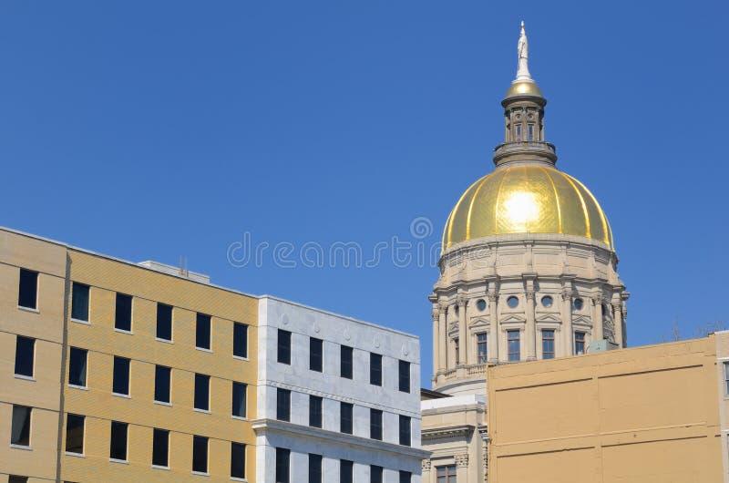 Het Capitool van de Staat van Georgië royalty-vrije stock foto