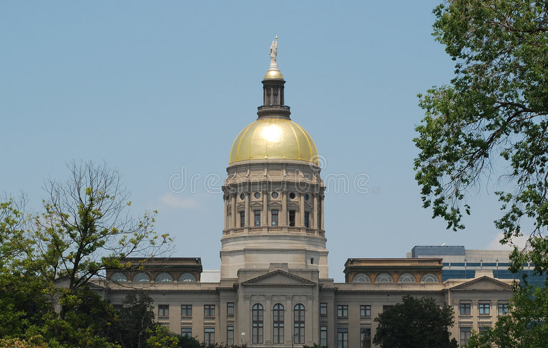 Het Capitool van de Staat van Georgië royalty-vrije stock fotografie