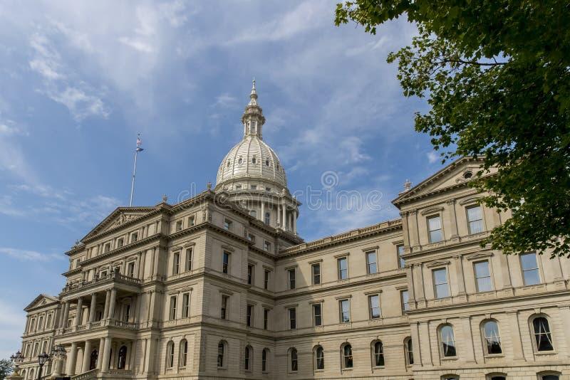 Het Capitool van de Staat van Michigan royalty-vrije stock afbeeldingen