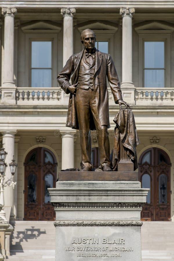Het Capitool van de Staat van Michigan stock fotografie