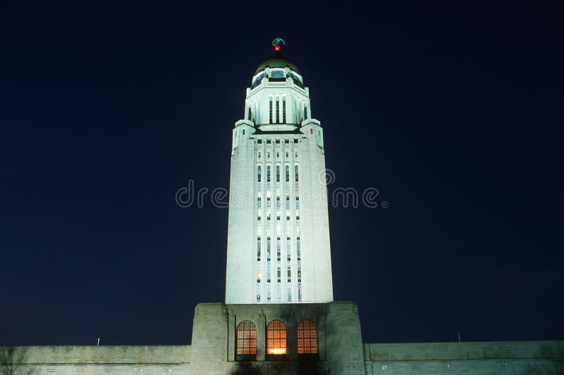 Het Capitool van de staat van Nebraska, royalty-vrije stock fotografie