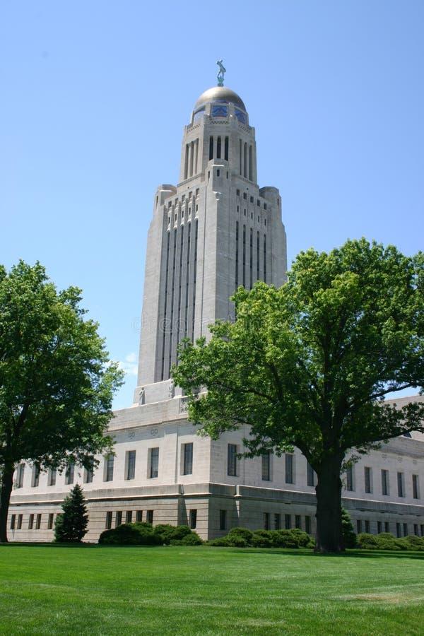 Het Capitool van de Staat van Nebraska stock afbeelding