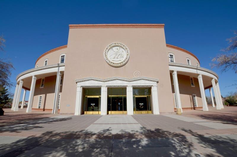 Het Capitool van de Staat van New Mexico, royalty-vrije stock afbeelding