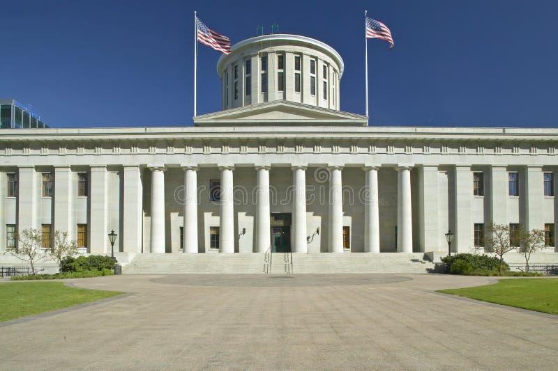 Het Capitool van de staat van Ohio, royalty-vrije stock foto
