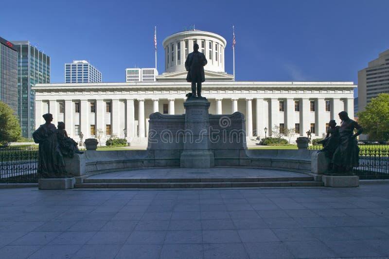 Het Capitool van de staat van Ohio stock foto