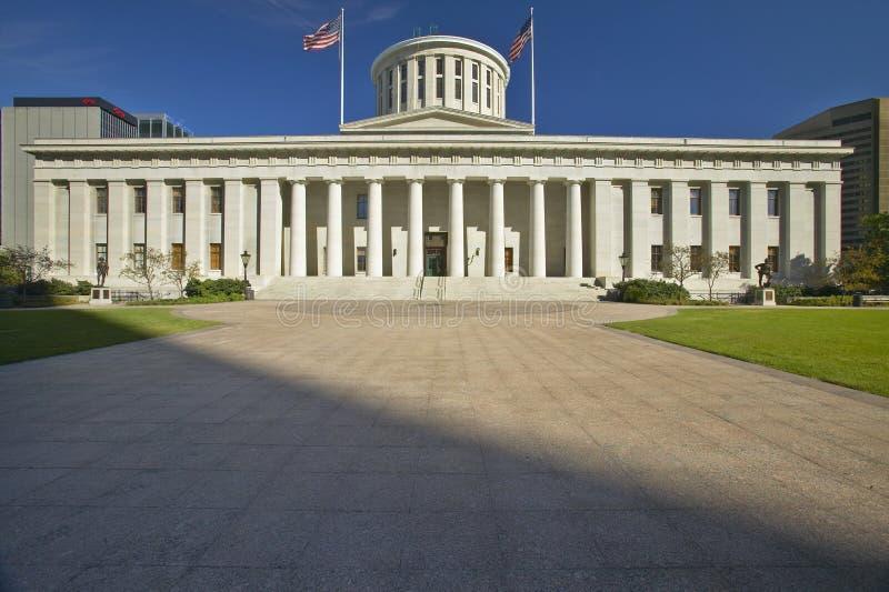 Het Capitool van de staat van Ohio stock afbeeldingen