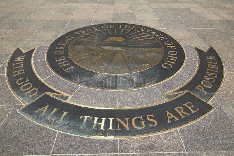 Het Capitool van de staat van Ohio, Columbus royalty-vrije stock foto