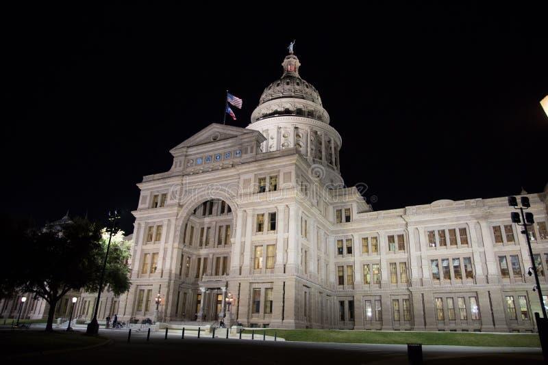 Het Capitool van de Staat van Texas stock fotografie