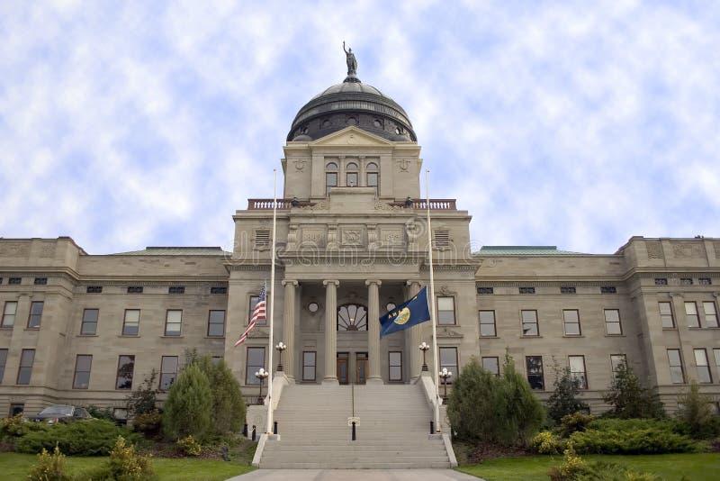 Het Capitool van Montana stock foto's