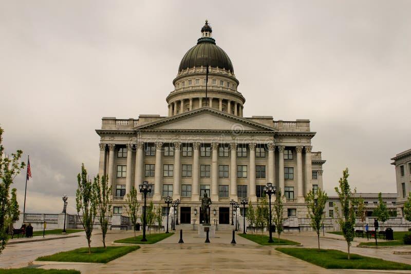 Het Capitool van Utah stock foto's