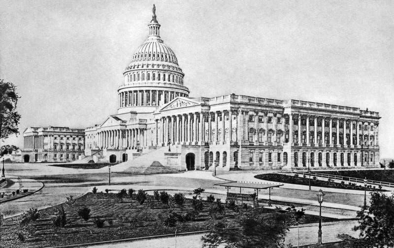 Het Capitool van Verenigde Staten stock foto