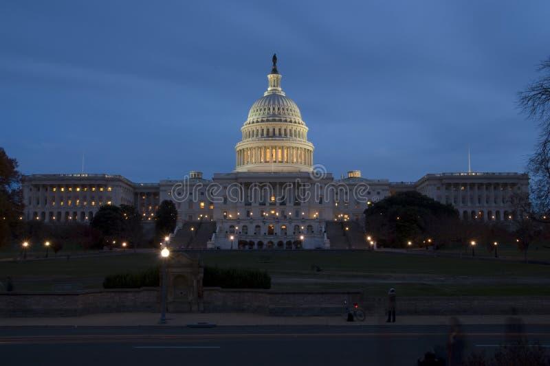 Het Capitool van Verenigde Staten in Washington DC royalty-vrije stock foto's
