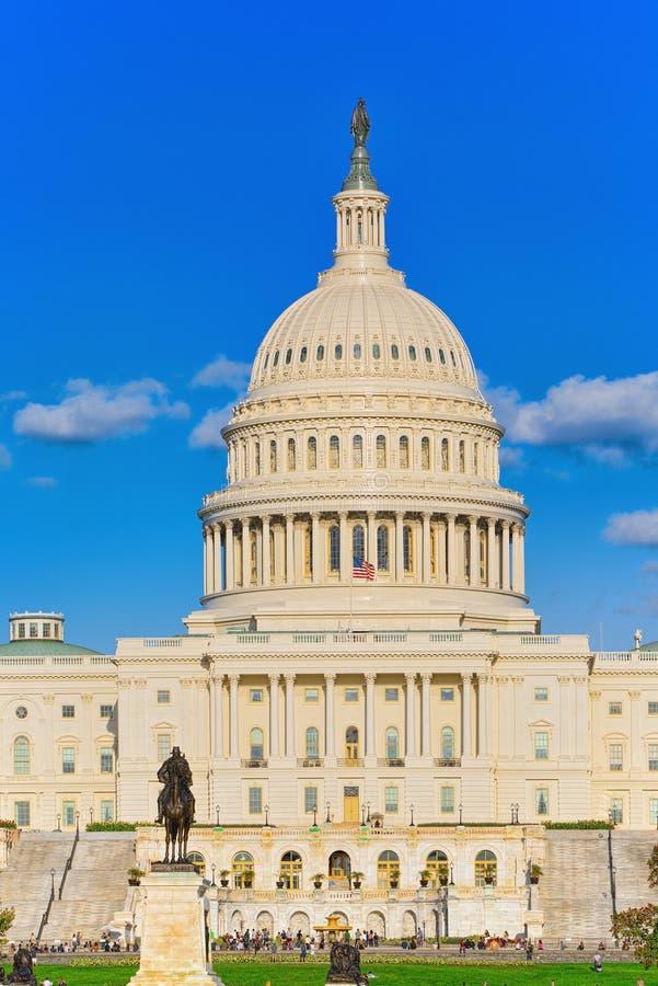 Het Capitool van Washington, de V.S., Verenigde Staten, Ulysses S Grant Memoria royalty-vrije stock fotografie