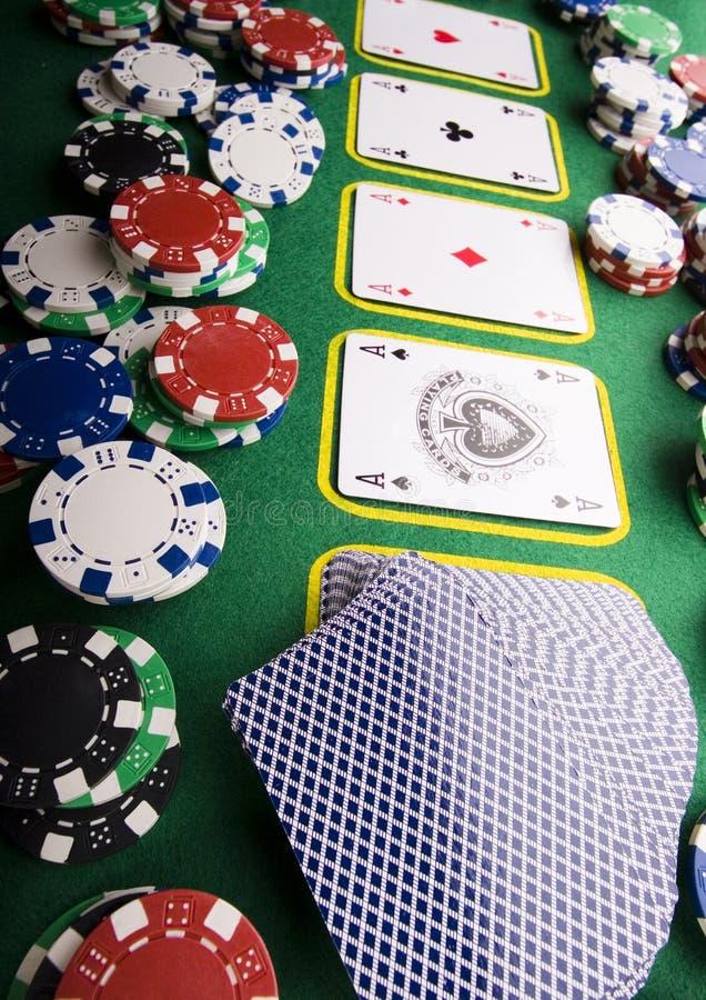 In het casino royalty-vrije stock fotografie