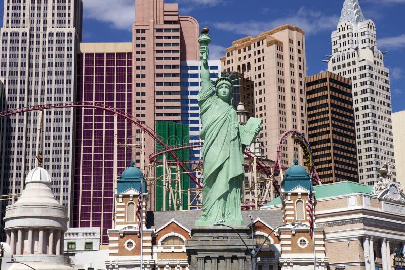 Het Casino en het Hotel van New York in Las Vegas, Nevada royalty-vrije stock afbeelding