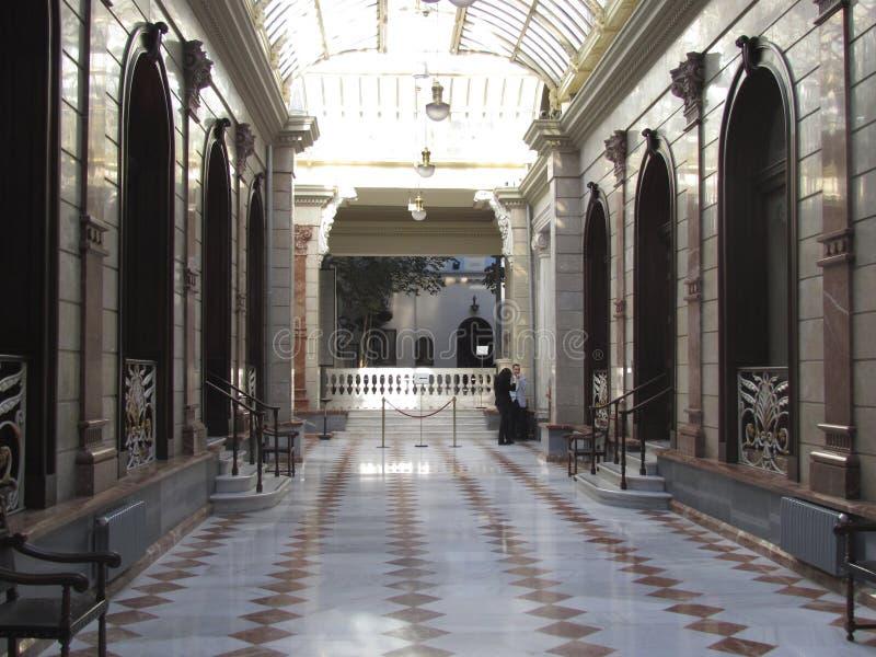 Het Casino in Murcia, Spanje royalty-vrije stock foto's